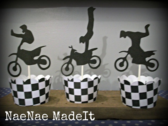 Dirtbike Birthday Party - Motorcycle Birthday