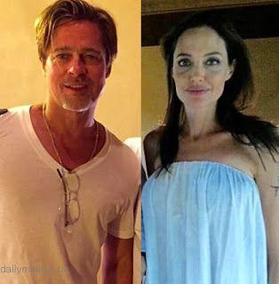 海外セレブニュース&ファッションスナップ: 【アンジェリーナ・ジョリー】破局数か月前、ブラッド・ピットとタトゥーを入れていた写真が公開される