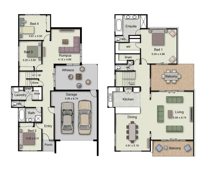 31 Best Reverse Living House Plans Images On Pinterest