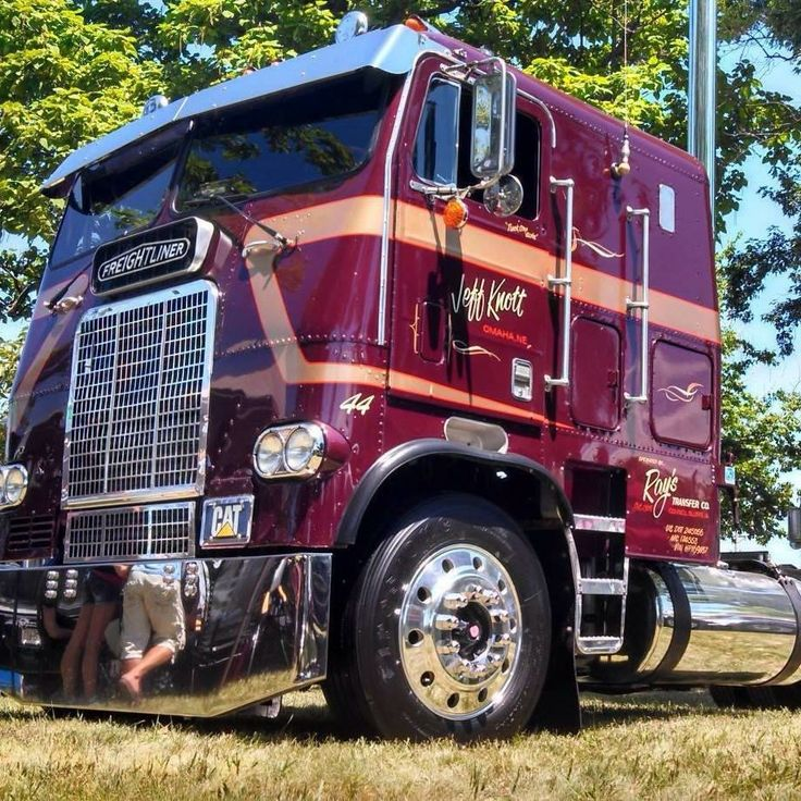 Mack Truck Rod Before And After: Freightliner Cabover