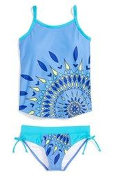 Limeapple Two-Piece Swimsuit (Big Girls)
