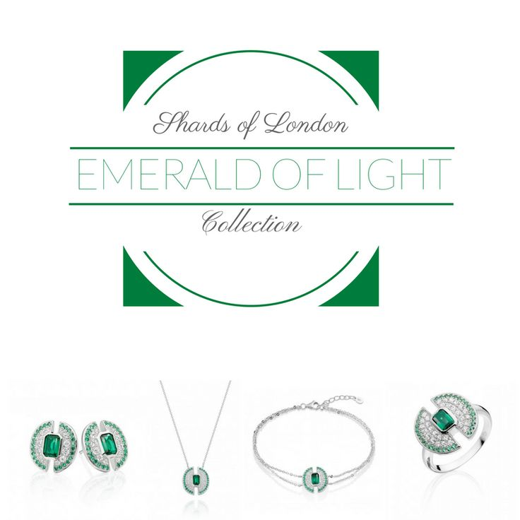 Strong 💚 Bold 💚 Empowered?  This collection is for you👉  http://www.shardsoflondon.com/emerald-of-light   #Jewellery #Jewelry