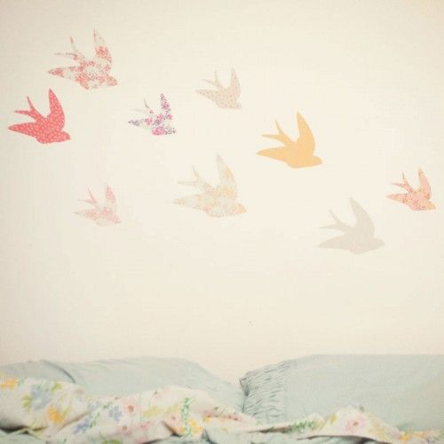 24 best images about bird themed nursery toddler room on for Bird nursery fabric