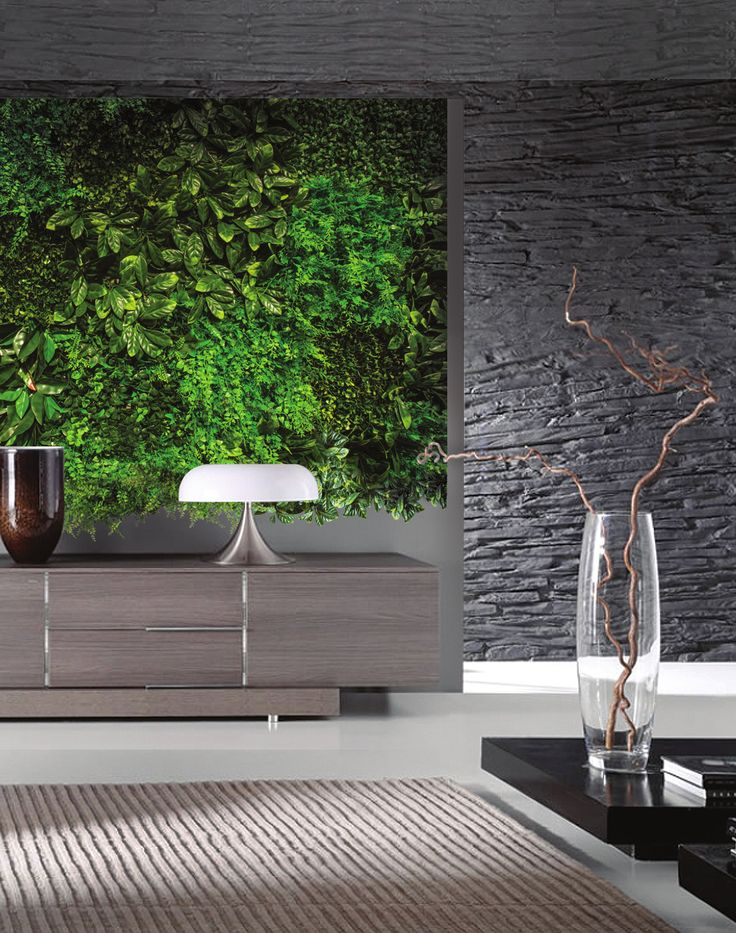 Puedes crear espacios de aspecto natural en interior