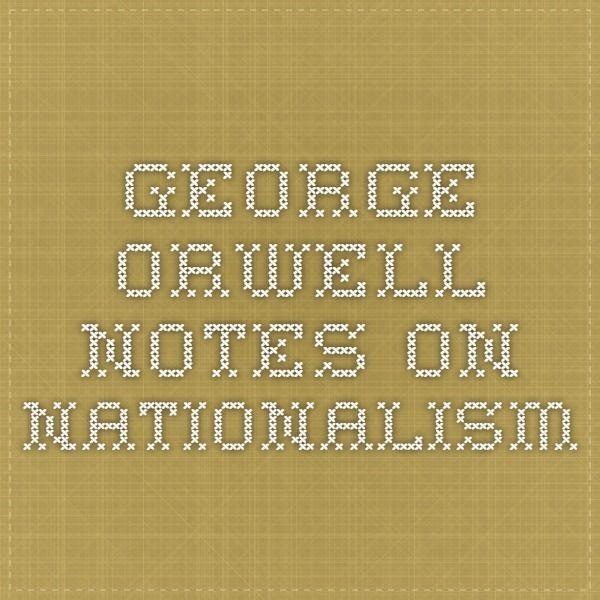 orwells essay on
