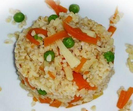 Zöldséges bulgur Recept képpel - Mindmegette.hu - Receptek