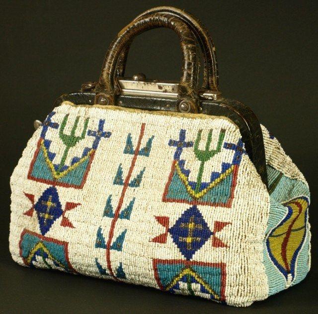 Lakota beaded Purse