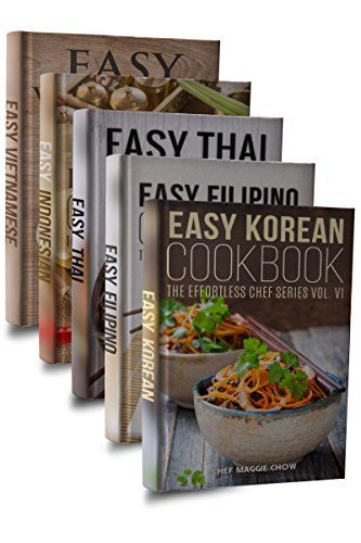 Traditional Easy Asian Cookbook Box Set: Easy Korean Cookbook, Easy Filipino Cookbook, Easy Thai Cookbook, Easy Indonesian Cookbook, Easy Vietnamese Cookbook (Korean ... Recipes, Asian Recipes, Asian Cookbook 1), ,