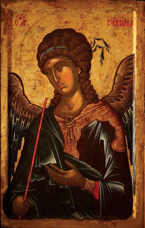 ИКОНААрхангел Гаврило, трећа четвртина XIV века, Манастир Хиландар, Света Гора