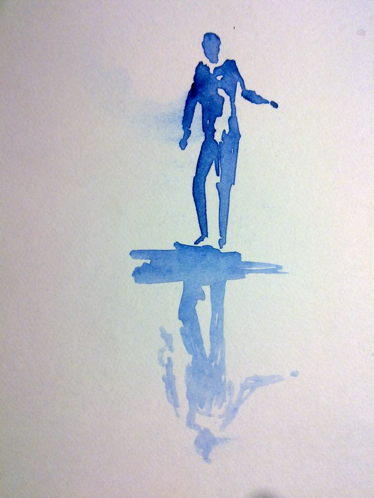 water colour #reflection