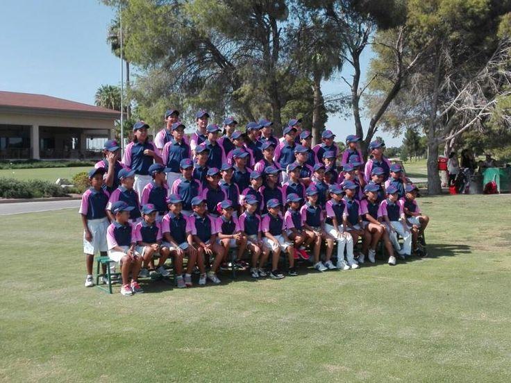 Listos para gira infantil y juvenil de golf