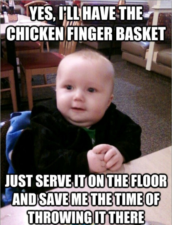 If this is your kid (hint: if you have a kid this applies) tip minimum of at least 20% just because server has to clean up after him/her