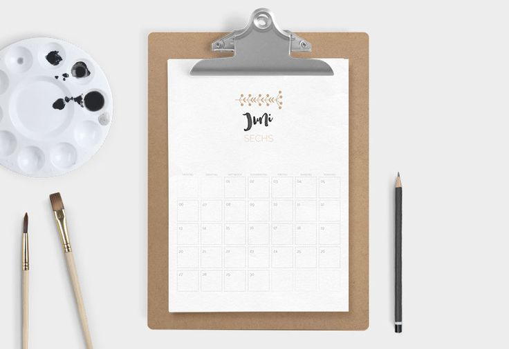 Kalender 2016 – Free Printable | Sodapop Design Deutsch!