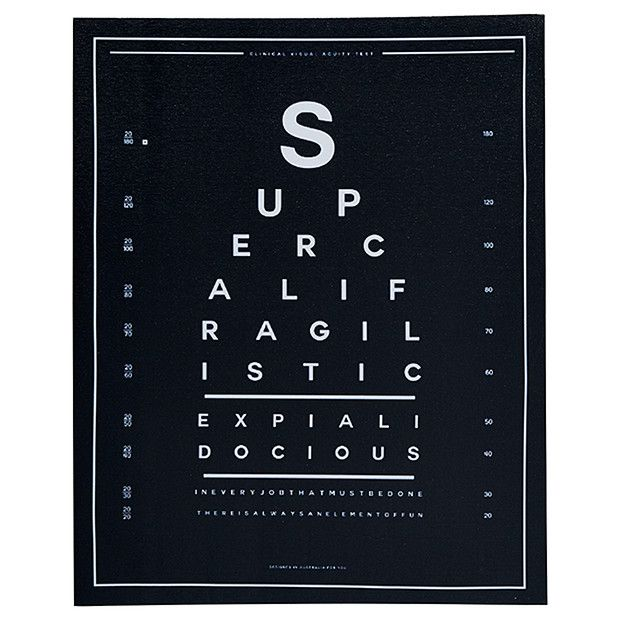 Supercali Canvas Print 40 x 60cm | Target