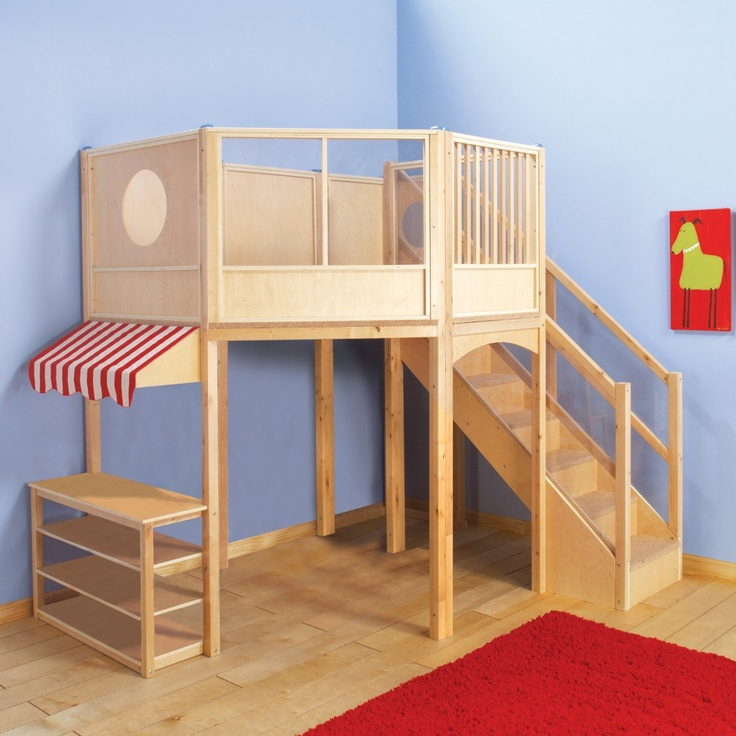 Guidecraft Market Loft....copy this for the preschool room?