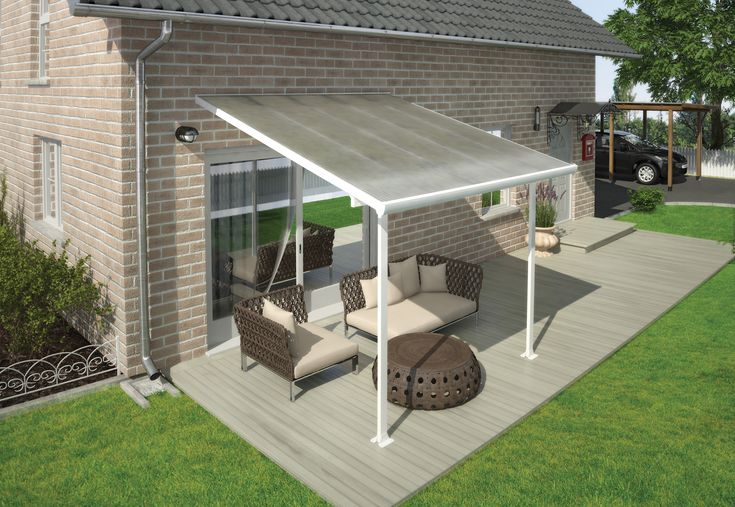 Enjoy your outdoors year-round with the Feria Patio Cover, a stylishly crafted and sturdy addition to your outside living space. Partake of family get-togethers and cookouts without fearing the fickle weather will ruin your fun. The Feria is an aesthetic, multi-purpose, maintenance free roofing solution allowing for various outdoor uses such as a pergola, carport, sun lounge etc.