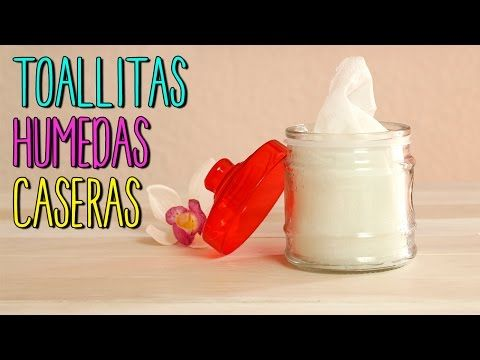 Toallitas Desmaquillantes Hechas en Casa - Receta Casera para todo tipo de Pieles - YouTube