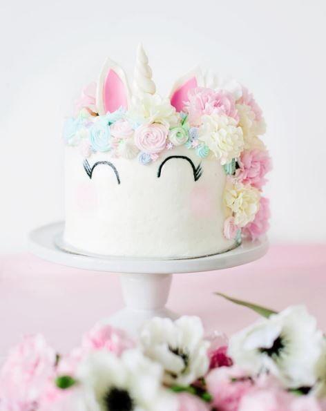 Licorne gâteau - unicorn cake