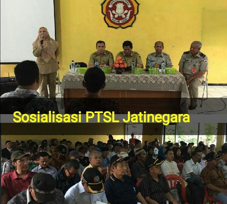 UPPRD Cakung lakukan Sosialisasi Pendaftaran Tanah Sistematis Lengkap (PTSL) atau Prona pemutihan sertifikat tamah di Kelurahan Jatinegara