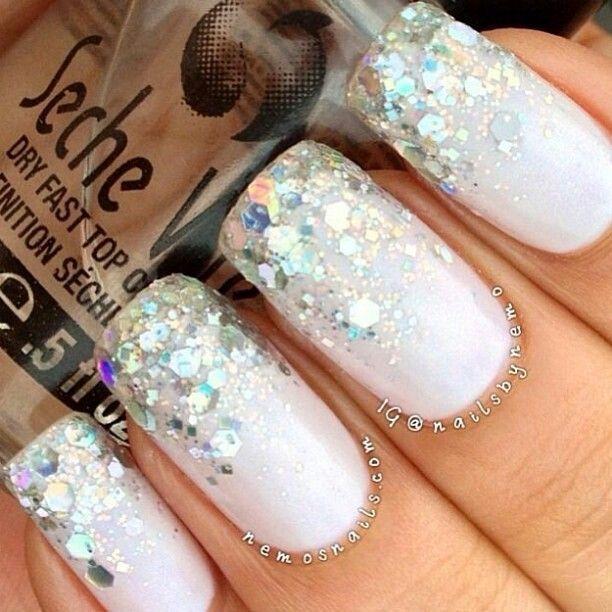 sparkly white christmas