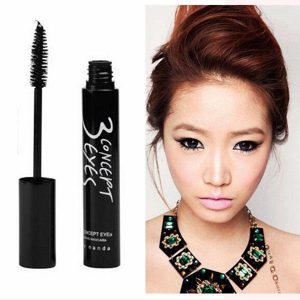 3CE Natural Mascara Deep Black Fiber Eyelash Grower