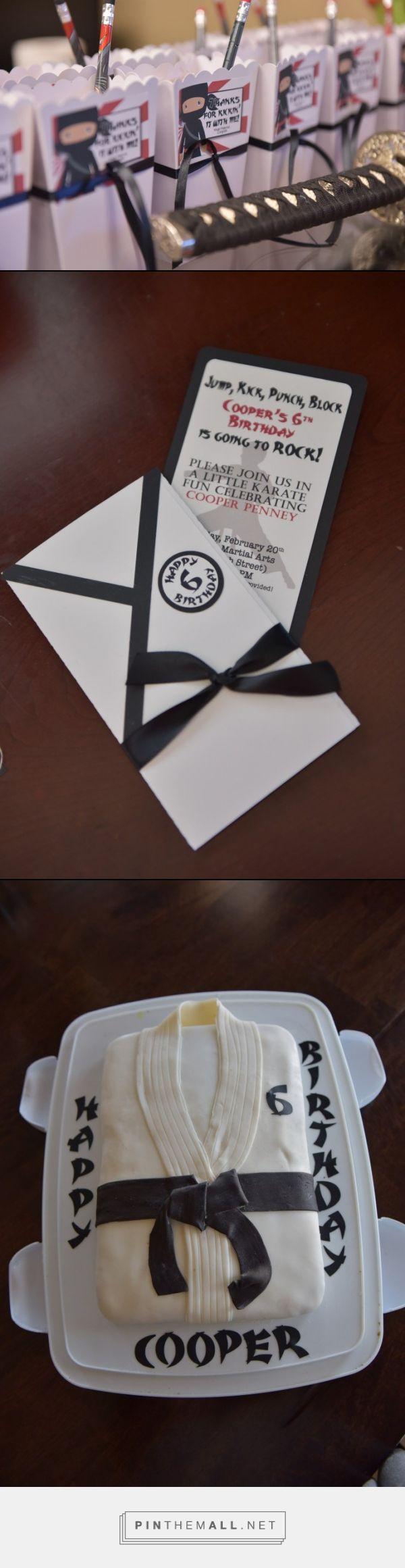 Best 25+ Karate party ideas on Pinterest | Ninja party, Ninja ...