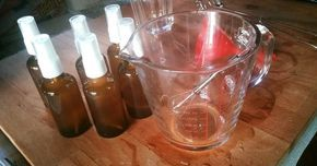 Fermente Mutfağım: %100 Bitkisel Sivrisinek Kovucu Vücut Spreyi