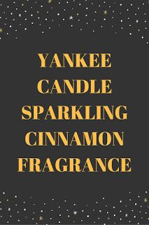 Smart Working is Hard Working: Yankee Candle Sparkling Cinnamon