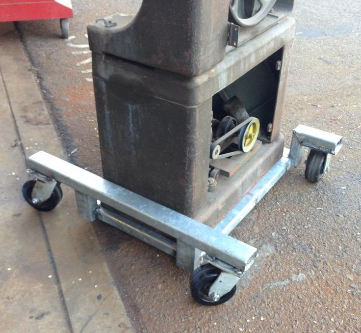 Mobile base for the bandsaw - The Garage Journal Board