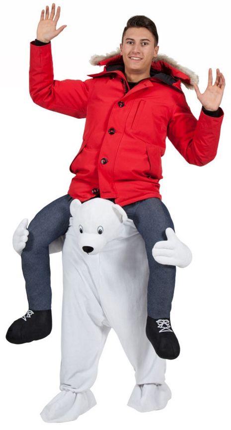 Carry Me Polar Bear Costume | Animal Costumes | Mega Fancy Dress
