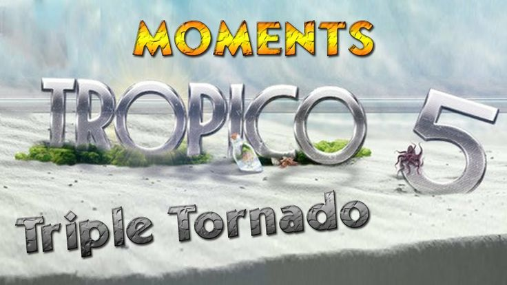 So... your Tropico 5 island is thriving.... Have a tornado ! As a matter of fact have 3 of them... Bye... We can blame Penultimo anyway ! #tropico5 #tropico