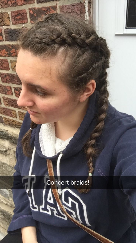 Concert hair #michelleannelucas