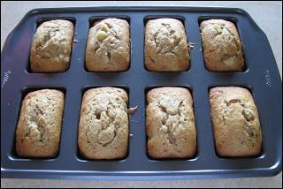 Big Mama's Home Kitchen: Mini Banana Bread Loaves