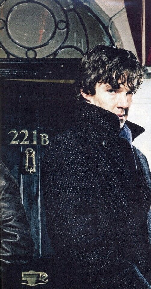 SHERLOCK (BBC) ~ Pilot promo photo of Benedict Cumberbatch as Sherlock Holmes.