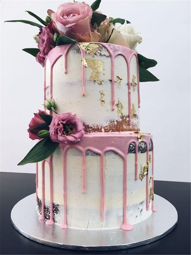 6 Neueste Hochzeitstorte Trends auch Fräulein Adorable! – Rustikale Hochzeiten …   – Hochzeit