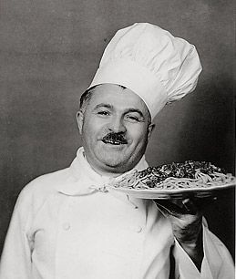 Chef Boyardee - embarrassing but true! Beeforoni, spaghetti/meatballs and beef ravolis!
