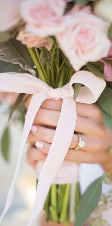Pink Wedding via @jena1125. #weddings #bridal