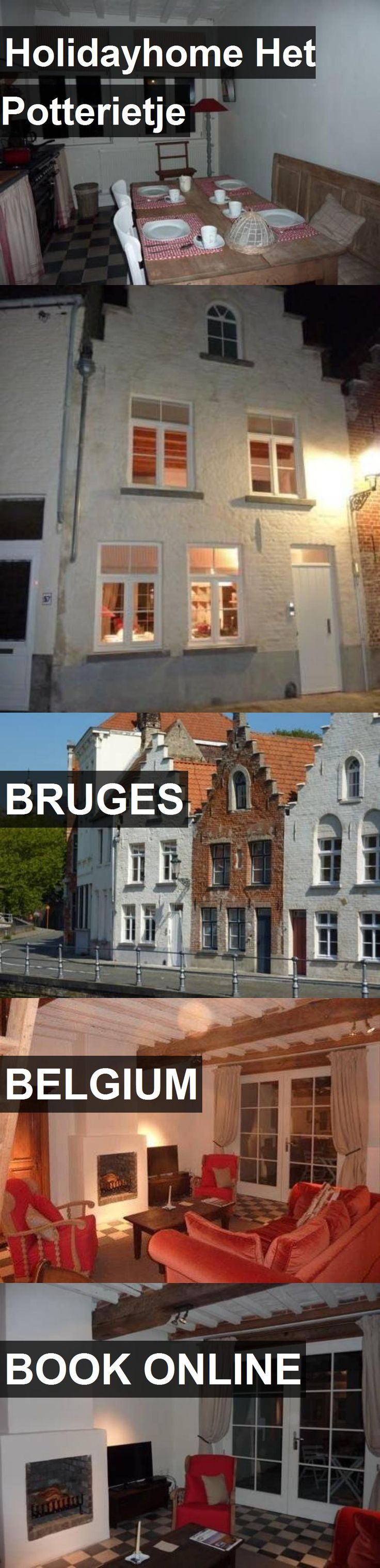 Hotel Holidayhome Het Potterietje in Bruges, Belgium. For more information, photos, reviews and best prices please follow the link. #Belgium #Bruges #travel #vacation #hotel
