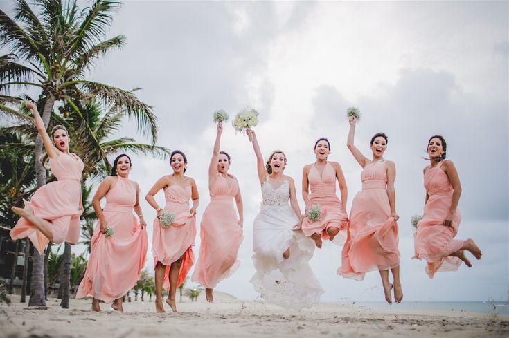 Casamento na praia de Tabuba