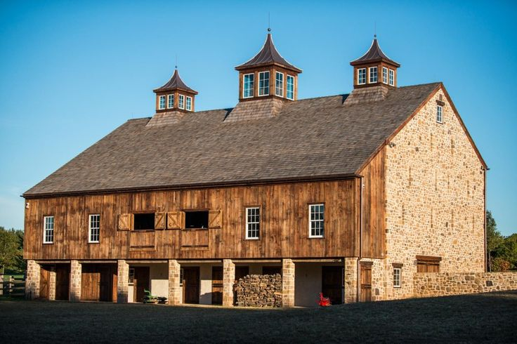 If you are interested in barn restoration, you should look at this site. Gorgeous work! (The Newtown Barn - Heritage Restorations)