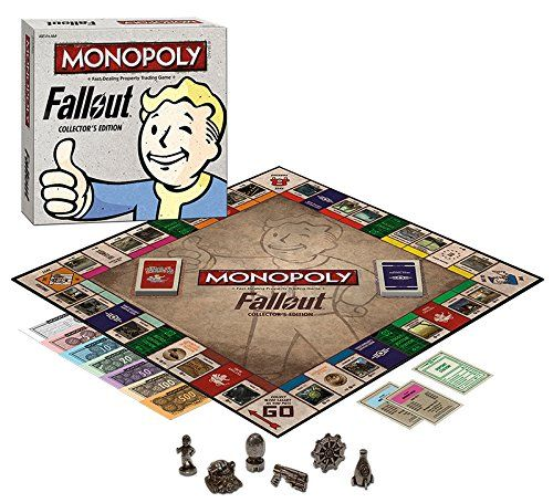 (affiliate link) Fallout: Collector's Edition Monopoly Board Game