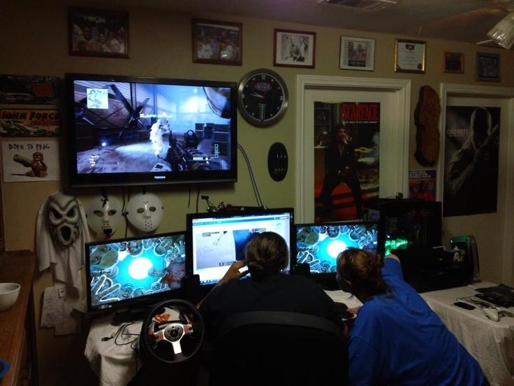 Christmas Room Tour Gaming Setup