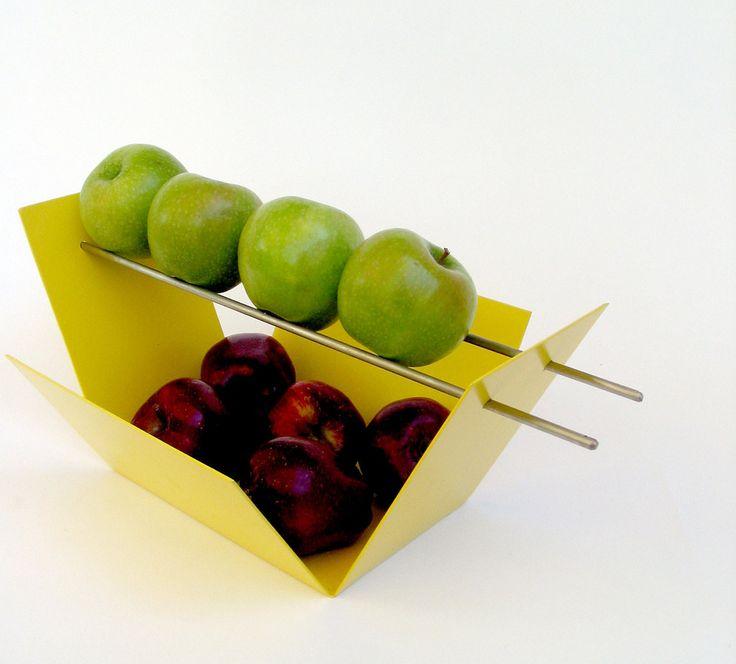 Taot Modern Fruit Bowl / Yellow