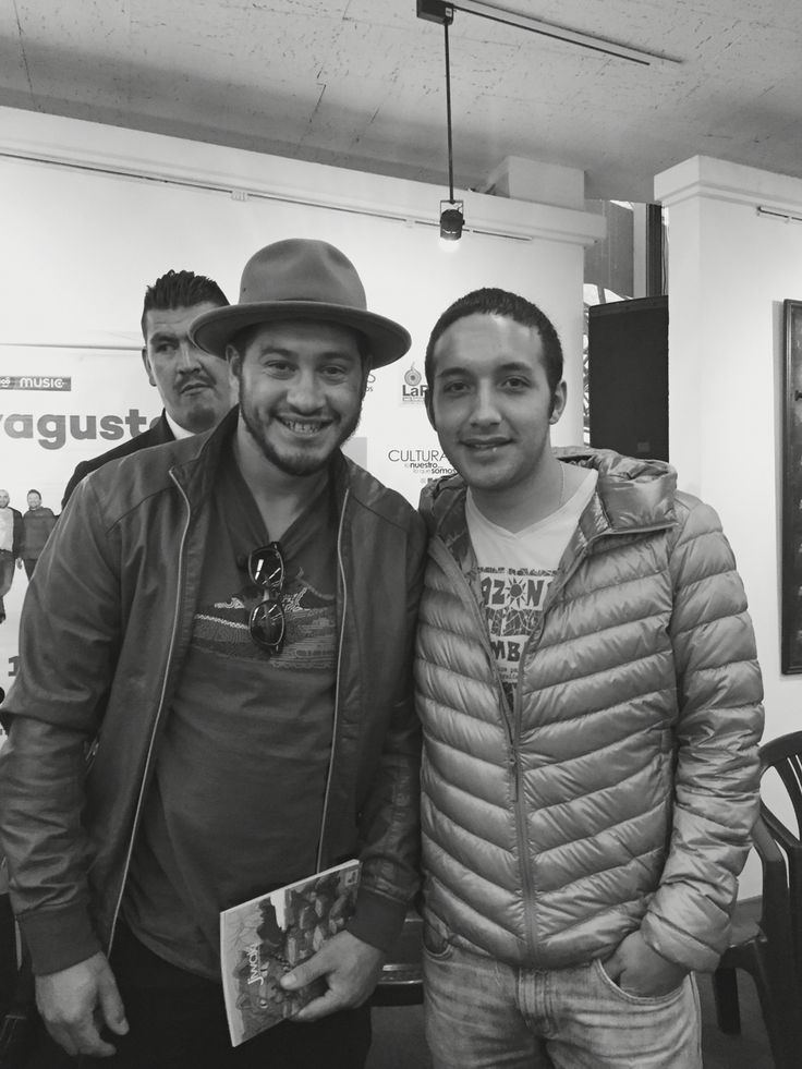 Con Cecilio Denis Ramos de la banda Uruguaya No Te Va Gustar en #LaPaz #Bolivia