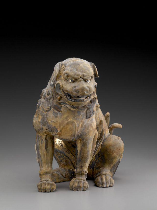 Комайну Пес создан около 1450 года - в Эпоху Муромати (560 лет назад) Найдено: http://tanjand.livejournal.com/1303061.html