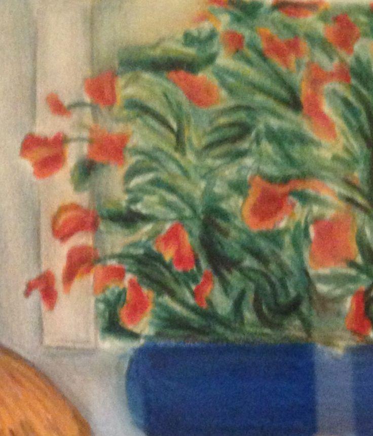 """Particolare """"Vaso blu con fiori"""" - Anna Stile Jewels"""
