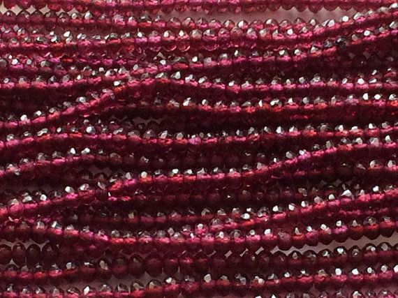 Garnet Rhodolite  Rhodolite Garnet Faceted by gemsforjewels
