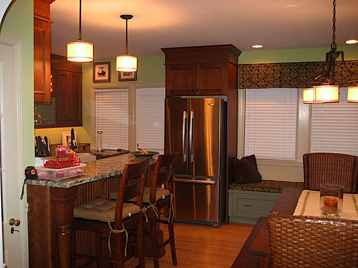 Crazy Rodgers Forge Remodel An Example Of Really Combining The Kitchen And Dining Room Into More