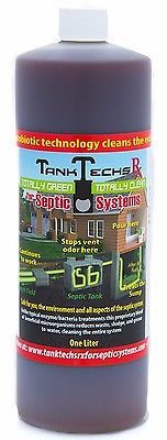 Septic System Cleaner Treatment Sump Toilet Sewer Well Solid Waste Tank 1 Litre