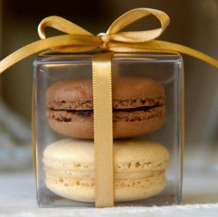 Amazon.com: 25 Sets of Clear Macaron Boxes for 2 Macarons ($1.00 Per Set of Macaron Box): Home & Kitchen